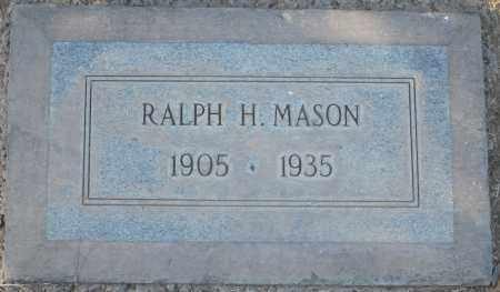 MASON, RALPH H - Maricopa County, Arizona | RALPH H MASON - Arizona Gravestone Photos