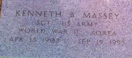 MASSEY, KENNETH A. - Maricopa County, Arizona | KENNETH A. MASSEY - Arizona Gravestone Photos
