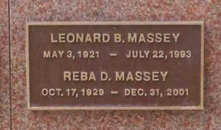 MASSEY, REBA D. - Maricopa County, Arizona | REBA D. MASSEY - Arizona Gravestone Photos