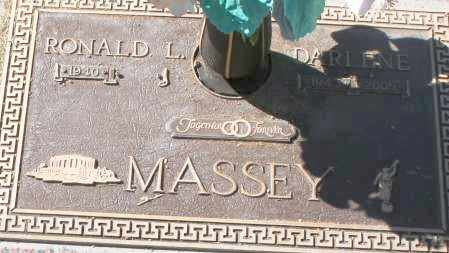 MASSEY, RONALD L - Maricopa County, Arizona | RONALD L MASSEY - Arizona Gravestone Photos