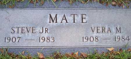 MATE, VERA M. - Maricopa County, Arizona   VERA M. MATE - Arizona Gravestone Photos