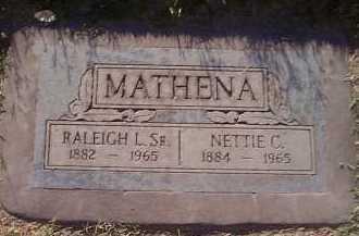 MATHENA, NETTIE C. - Maricopa County, Arizona   NETTIE C. MATHENA - Arizona Gravestone Photos