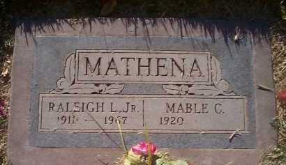 MATHENA, MABLE C. - Maricopa County, Arizona | MABLE C. MATHENA - Arizona Gravestone Photos