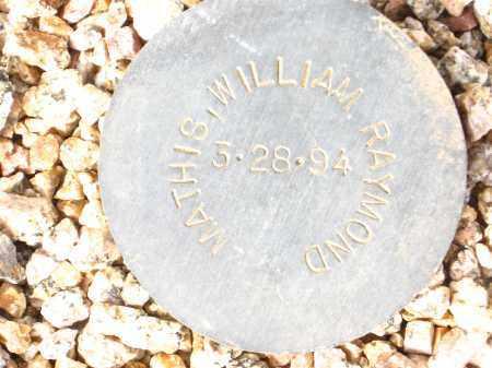 MATHIS, WILLIAM RAYMOND - Maricopa County, Arizona | WILLIAM RAYMOND MATHIS - Arizona Gravestone Photos