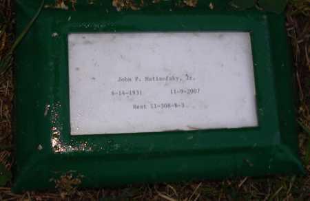 MATISOFSKY, JOHN P., JR. - Maricopa County, Arizona | JOHN P., JR. MATISOFSKY - Arizona Gravestone Photos