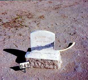 MATTHIESSON, N C - Maricopa County, Arizona | N C MATTHIESSON - Arizona Gravestone Photos