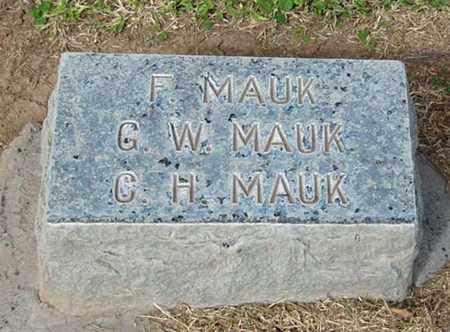 MAUK, CHARLES HENRY - Maricopa County, Arizona   CHARLES HENRY MAUK - Arizona Gravestone Photos