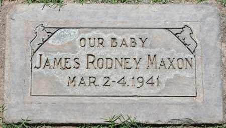 MAXON, JAMES RODNEY - Maricopa County, Arizona | JAMES RODNEY MAXON - Arizona Gravestone Photos
