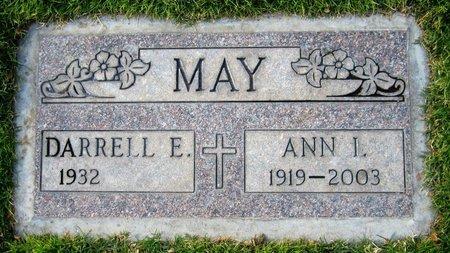 MAY, DARRELL E. - Maricopa County, Arizona   DARRELL E. MAY - Arizona Gravestone Photos