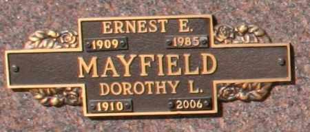 MAYFIELD, ERNEST E - Maricopa County, Arizona | ERNEST E MAYFIELD - Arizona Gravestone Photos