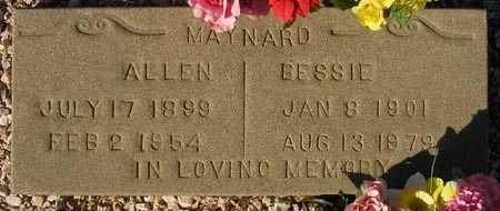 MAYNARD, BESSIE - Maricopa County, Arizona | BESSIE MAYNARD - Arizona Gravestone Photos