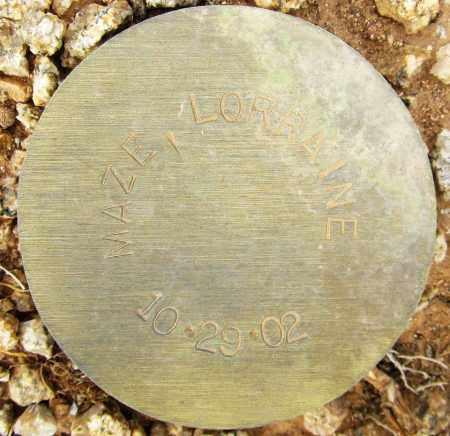 MAZE, LORRAINE - Maricopa County, Arizona | LORRAINE MAZE - Arizona Gravestone Photos