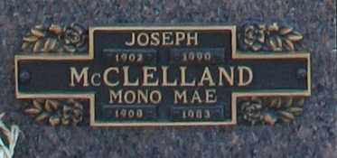 MCCLELLAND, MONO MAE - Maricopa County, Arizona | MONO MAE MCCLELLAND - Arizona Gravestone Photos