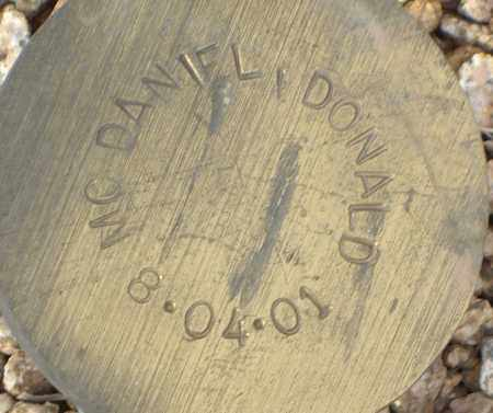 MC DANIEL, DONALD - Maricopa County, Arizona | DONALD MC DANIEL - Arizona Gravestone Photos