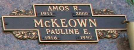 MCKEOWN, AMOS R - Maricopa County, Arizona   AMOS R MCKEOWN - Arizona Gravestone Photos