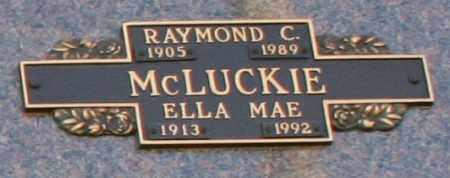 MCLUCKIE, RAYMOND C - Maricopa County, Arizona | RAYMOND C MCLUCKIE - Arizona Gravestone Photos