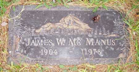 MCMANUS, JAMES W. - Maricopa County, Arizona | JAMES W. MCMANUS - Arizona Gravestone Photos
