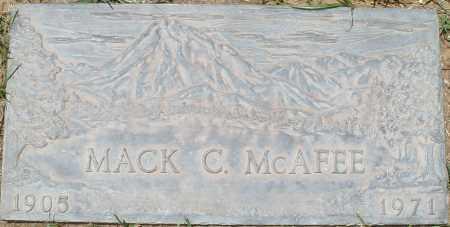 MCAFEE, MACK C. - Maricopa County, Arizona   MACK C. MCAFEE - Arizona Gravestone Photos
