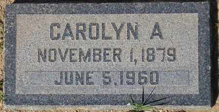 MCALLISTER, CAROLYN A. - Maricopa County, Arizona | CAROLYN A. MCALLISTER - Arizona Gravestone Photos