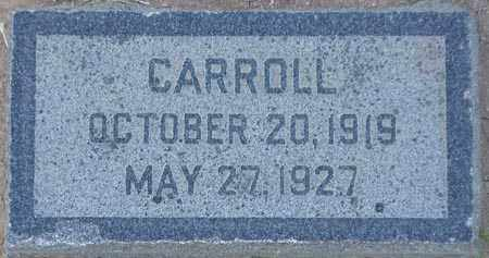 MCALLISTER, CARROLL - Maricopa County, Arizona | CARROLL MCALLISTER - Arizona Gravestone Photos