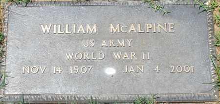 MCALPINE, WILLIAM - Maricopa County, Arizona   WILLIAM MCALPINE - Arizona Gravestone Photos