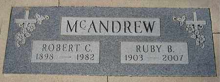 MCANDREW, RUBY B. - Maricopa County, Arizona | RUBY B. MCANDREW - Arizona Gravestone Photos