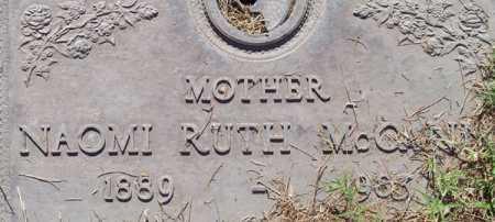 MCCANN, NAOMI RUTH - Maricopa County, Arizona | NAOMI RUTH MCCANN - Arizona Gravestone Photos