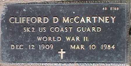 MCCARTNEY, CLIFFORD D. - Maricopa County, Arizona | CLIFFORD D. MCCARTNEY - Arizona Gravestone Photos