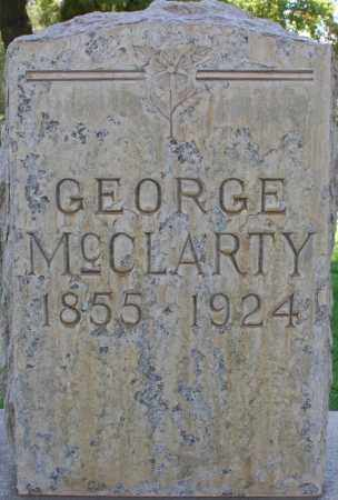MCCLARTY, GEORGE - Maricopa County, Arizona | GEORGE MCCLARTY - Arizona Gravestone Photos