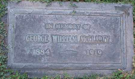 MCCLARTY, GEORGE WILLIAM - Maricopa County, Arizona | GEORGE WILLIAM MCCLARTY - Arizona Gravestone Photos