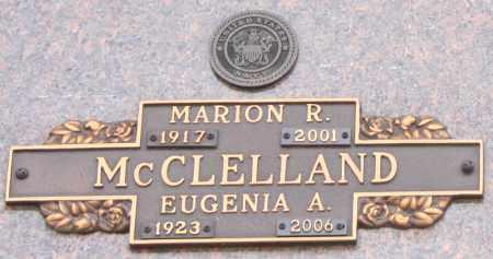 MCCLELLAND, MARION R - Maricopa County, Arizona   MARION R MCCLELLAND - Arizona Gravestone Photos