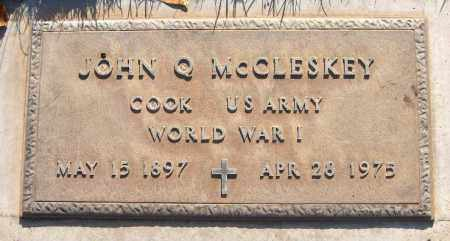 MCCLESKEY, JOHN Q. - Maricopa County, Arizona | JOHN Q. MCCLESKEY - Arizona Gravestone Photos