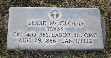 MCCLOUD, JESSE - Maricopa County, Arizona | JESSE MCCLOUD - Arizona Gravestone Photos