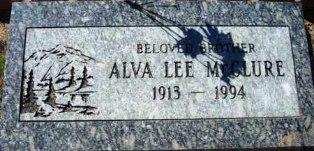 MCCLURE, ALVA LEE - Maricopa County, Arizona | ALVA LEE MCCLURE - Arizona Gravestone Photos