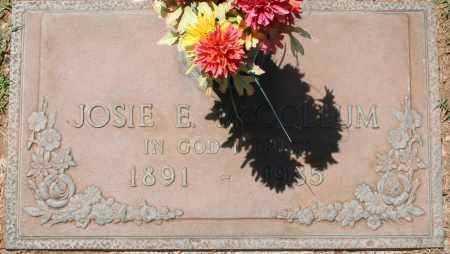 MCCOLLUM, JOSIE E. - Maricopa County, Arizona   JOSIE E. MCCOLLUM - Arizona Gravestone Photos