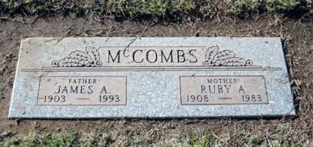 MCCOMBS, RUBY A. - Maricopa County, Arizona | RUBY A. MCCOMBS - Arizona Gravestone Photos