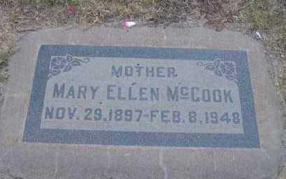 MCCOOK, MARY ELLEN - Maricopa County, Arizona | MARY ELLEN MCCOOK - Arizona Gravestone Photos