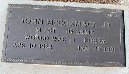 MCCORMACK, JOHN, JR. - Maricopa County, Arizona | JOHN, JR. MCCORMACK - Arizona Gravestone Photos