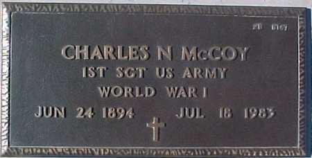 MCCOY, CHARLES N. - Maricopa County, Arizona   CHARLES N. MCCOY - Arizona Gravestone Photos