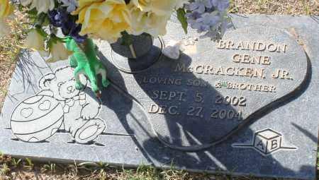 MCCRACKEN, BRANDON GENE, JR. - Maricopa County, Arizona | BRANDON GENE, JR. MCCRACKEN - Arizona Gravestone Photos