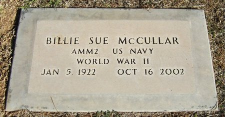 MCCULLAR, BILLIE SUE - Maricopa County, Arizona   BILLIE SUE MCCULLAR - Arizona Gravestone Photos