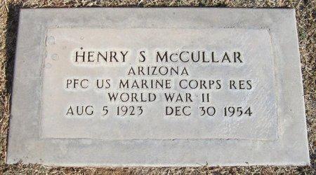MCCULLAR, HENRY S. - Maricopa County, Arizona | HENRY S. MCCULLAR - Arizona Gravestone Photos