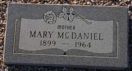 MCDANIEL, MARY - Maricopa County, Arizona | MARY MCDANIEL - Arizona Gravestone Photos