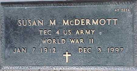 MCDERMOTT, SUSAN M. - Maricopa County, Arizona | SUSAN M. MCDERMOTT - Arizona Gravestone Photos