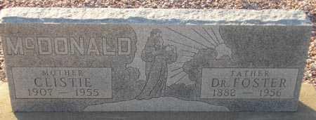 MCDONALD, CLISTIE - Maricopa County, Arizona | CLISTIE MCDONALD - Arizona Gravestone Photos