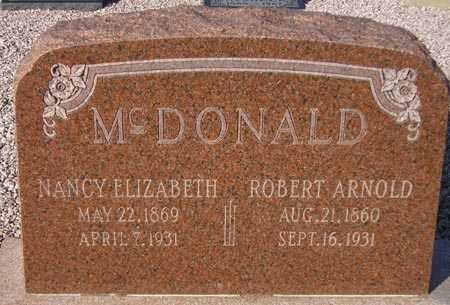MCDONALD, NANCY ELIZABETH - Maricopa County, Arizona | NANCY ELIZABETH MCDONALD - Arizona Gravestone Photos