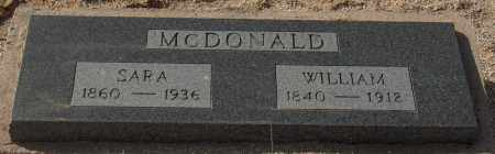MCDONALD, WILLIAM - Maricopa County, Arizona   WILLIAM MCDONALD - Arizona Gravestone Photos