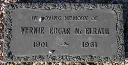 MCELRATH, VERNIE EDGAR - Maricopa County, Arizona | VERNIE EDGAR MCELRATH - Arizona Gravestone Photos