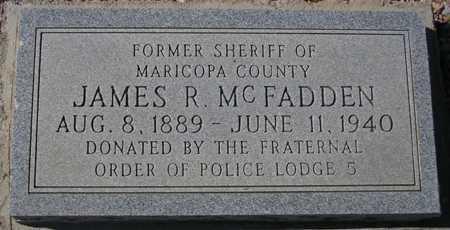 MCFADDEN, JAMES R. - Maricopa County, Arizona | JAMES R. MCFADDEN - Arizona Gravestone Photos