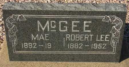 MCGEE, ROBERT LEE - Maricopa County, Arizona | ROBERT LEE MCGEE - Arizona Gravestone Photos